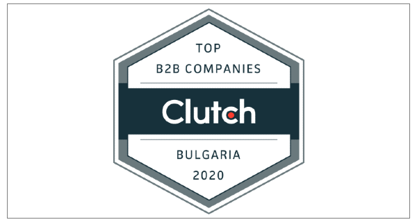 Clutch Top B2B Company Badge